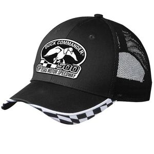 Duck Commander Texas Motor Speedway Mesh Hat with Logo Black One Size Fits Most 10 Pack DHDC50001