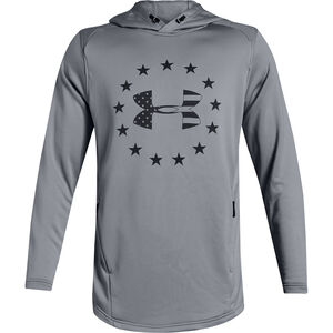 Under Armour UA Freedom Tech Terry Men's Hoodie 100% Polyester