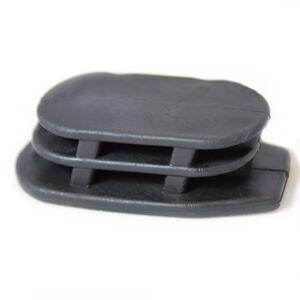 ERGO A2 Pistol Grip Plug Rubber Black