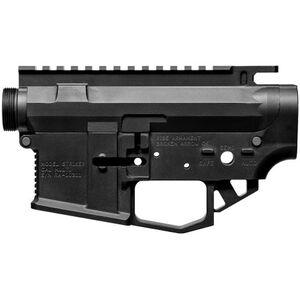 RISE Armament Striker AR-15 Receiver Set Matched Stripped Upper and Lower Billet Aluminum Black