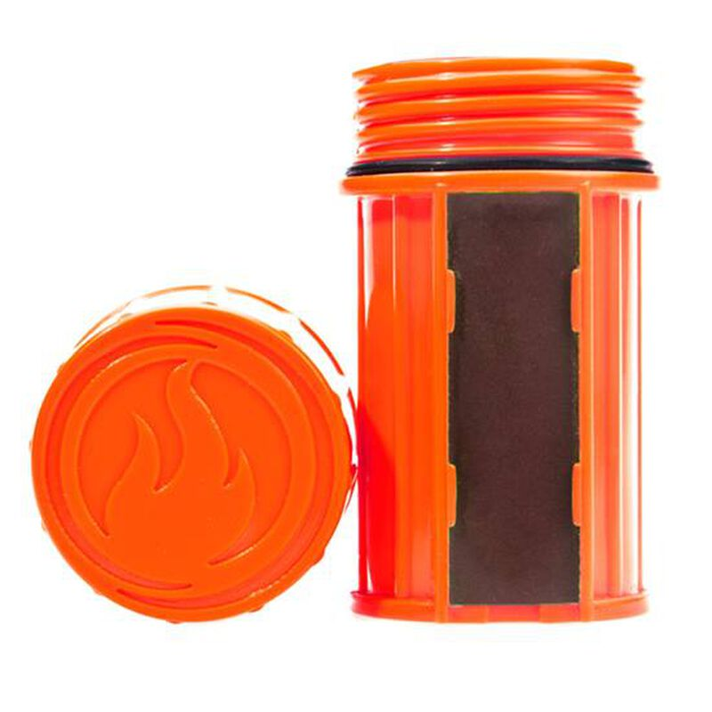 Industrial Revolution Waterproof Match Case Polymer Orange MT-EMPTY-CASE