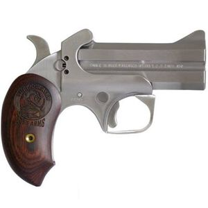 """Bond Arms Snake Slayer .45LC/.410 Bore Break Action Derringer 3.5"""" Barrels 2 Rounds Extended Rosewood Grip Front Blade Sight/Fixed Rear Sight Natural Finish"""