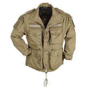 Voodoo Tactical 1 Field Jacket Polyester Cotton Large Sand