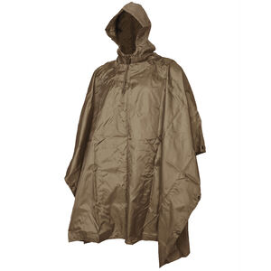 5IVE Star Gear Poncho, One Size Coyote Tan