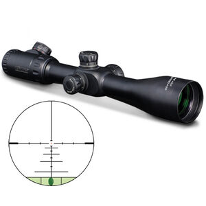 Konus F30 4-16x52 Rifle Scope with First Focal Plane 550 Ballistic Reticle, Side Parrallax and 30mm Tube