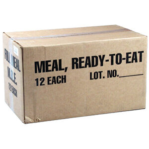 Voodoo Tactical MRE, 12 Meals Ready To Eat