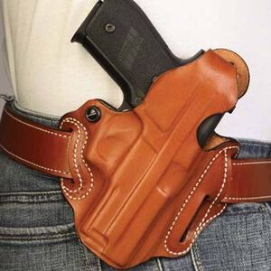 DeSantis Thumb Break Belt Holster S&W M&P Shield 9/40 Right Hand Leather Tan 001TAX7Z0