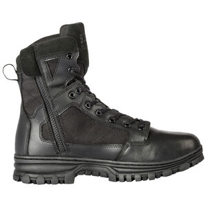 "5.11 Tactical EVO Men's 6"" Side Zip Boot Size 8.5 Regular Black"