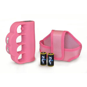 Personal Security Products ZAP Blast Knuckles, 950,000 Volt Stun Gun, Pink, ZAPBK950PK