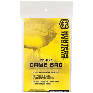 """Hunters Specialties Deluxe Game Bag 40""""x48"""" Canvas Field Dressing Bag Reusable 01232"""