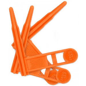 ERGO Grip Safety Chamber Flag Polymer Orange 3 Pack 4984-3PK-OR