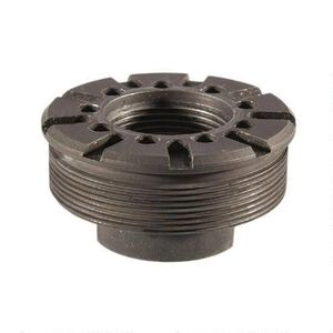 SilencerCo Hybrid Direct Thread Mount 11/16x24 Steel Black