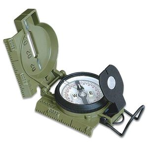Cammenga U.S. Military Lensatic Tritium Compass Model 3H    NSN: 6605-01-196-6971