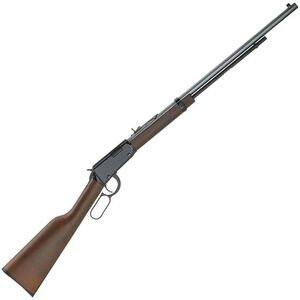 """Henry Repeating Arms Frontier Lever Action Rifle .22 WMR 24"""" Barrel 12 Rounds Walnut Stock Blued"""