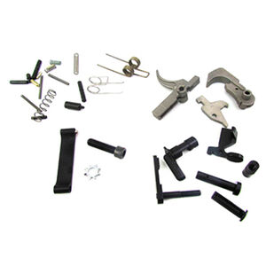 WMD Guns AR-15 Lower Parts Kit Mod 3 NiB-X Parts without Pistol Grip Nickel Boron X/Nitromet Finish