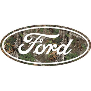 "Open Road Brands ""Ford Camo"" Embossed Tin Sign 20""x9.15"""