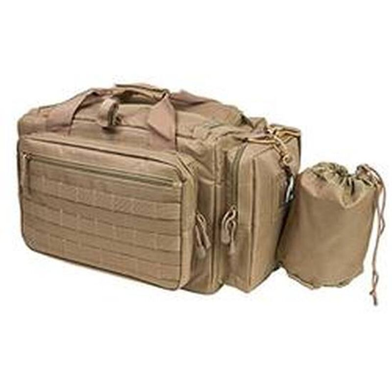 "Vism Competition Range Bag 13""x20.5""x10"" Nylon Tan CVCRB2950T"