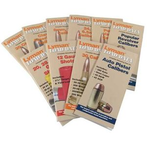 Lyman Load Data Book Big Bore Rifle Calibers 9780022
