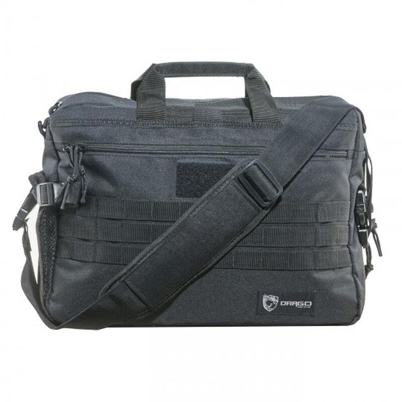 "DRAGO Gear Tactical Laptop Briefcase 18.5""x5.5""x13"" 600D Polyester Black 15305BL"