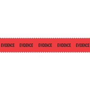Sirchie SIRCHMARK Evidence Tape 108' Red