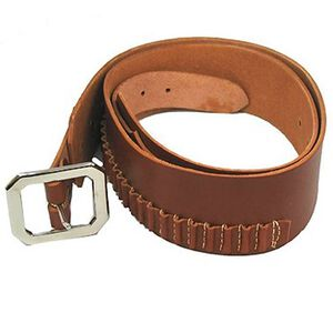 "Hunter Company Cartridge Belt .45 Long Colt/.410 Antique Medium 34""-39"" Brown 145-100-100340"
