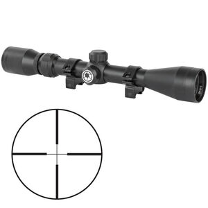 "Barska Colorado 3-9x40 Riflescope Non-Illuminated 30/30 Reticle 1"" Tube .25 MOA Adjustment Second Focal Plane Fixed Parallax Matte Black Finish"