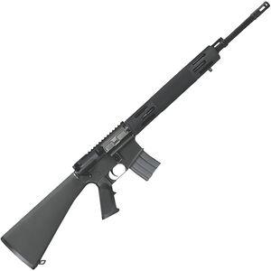 "Bushmaster Hunting AR-15 Semi Auto Rifle .450 BM 20"" Barrel 5 Rounds Vented Aluminum Handguard Fixed Stock Black"