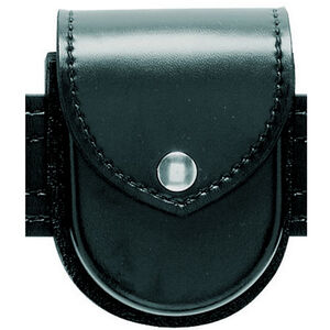 Safariland Double Handcuff Case for Hinged Cuffs High Gloss Chome Snap Black 290H-1-9