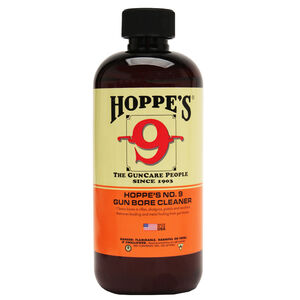 Hoppe's No. 9 Gun Bore Solvent Cleaner 32oz Quart Bottle 10 Pack