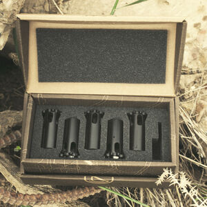 SilencerCo Octane/Osprey Suppressor Piston Kit Limited Edition 5 Total Pistons Matte Black AC728