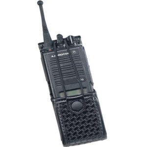 Uncle Mike's Radio Case Laminated Swivel Size 4 Black