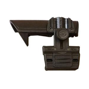 CAA AR-15/M4 Stock Cheek Rest Picatinny Rail Left Hand Shooter Polymer Black PRFCSLACP