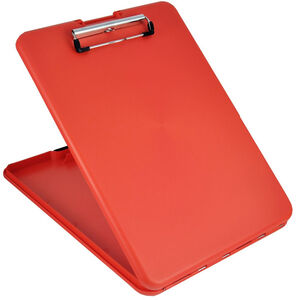 Saunders SlimMate Storage Clipboard Letter/A4 Size, Red
