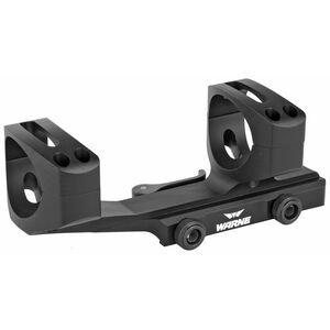 Warne Scope Mounts Extended SKEL One Piece AR-15 Skeletonized Scope Mount 34mm Tube Diameter Quick Detach System Lightweight 6061 Aluminum Matte Black Finish