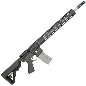 "Rock River LAR-15 X-1 5.56 NATO Semi Auto Rifle 30 Rounds 18"" Barrel Free Float Handguard Collapsible Stock Black"