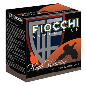 """Fiocchi High Velocity 20 Gauge Ammunition 3"""" #4 Shot 1-1/4oz Lead 1200fps"""