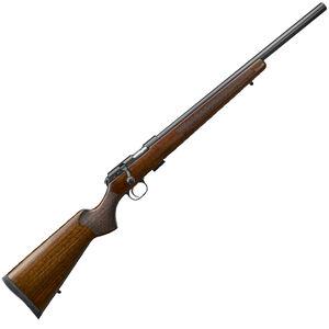 "CZ USA CZ 457 Varmint .22 WMR Rifle Bolt Action Rifle 20.5"" Barrel 5 Rounds Turkish Walnut Stock Black Metal Finish"