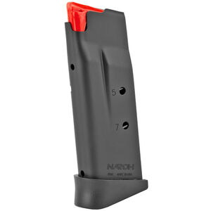 Naroh Arms Naroh N1 7 Round Magazine 9mm Luger Polymer Extended Base Plate Steel Body Matte Black