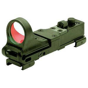 C-More Railway Click Red Dot Sight 8 MOA Weaver Picatinny Mount Polymer OD Green CRWODG-8