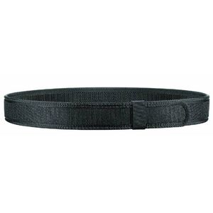 "Bianchi 8105 Hook Type Duty Belt Liner 24-28"" Waist 1.5"" Wide Hook and Loop Closure Nylon Black 31326"