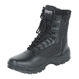 "Voodoo Tactical 9"" Tactical Boots Nylon/Leather Size 8 Regular Black 04-837901008"