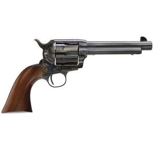 """Taylor's & Company 1873 Gunfighter Deluxe Single Action Revolver .357 Mag 5.5"""" Barrel 6 Rounds Walnut Grips Case Hardened Frame Finish 5000DE"""