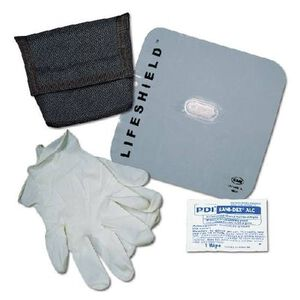 Emergency Medical International CPR Lifeshield Plus Kit 474