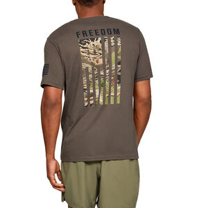 Under Armour Men's Freedom Flag Camo T-Shirt