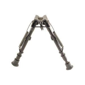 "Harris Ultra-light Bipod Notched Legs Sling Swivel Stud Mount 9"" to 13"" Telescoping/Folding Legs Aluminum Matte Black 1A2-LM"