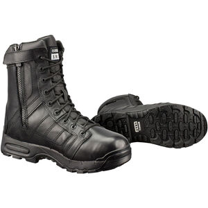 """S.W.A.T. Metro Air 9"""" Men's 8.5R Water Proof Leather Blk"""