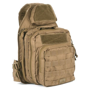 Red Rock Outdoor Gear Recon Sling Bag with Tear Away Feature Nylon Dark Earth 80139DE