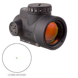 Trijicon 1x25 MRO 2.0 MOA Adjustable Green Dot