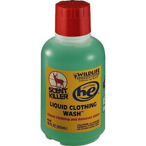 Wildlife Research Scent Killer Clothing Wash Liquid 16 Ounce