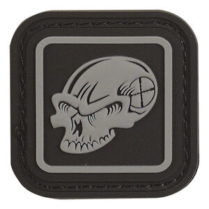 Voodoo Tactical Voodoo Enclosed Skull Patch TPR Rubber Black